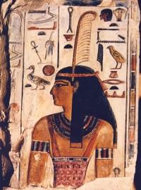 La dea Ma'at. Foto da: www.egiptologia.com