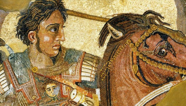 Vicini alla tomba di Alessandro Magno?