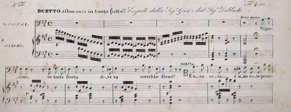 Gli asteroidi nel Tema di Gaetano Donizetti