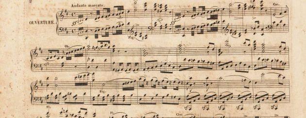 Gli asteroidi nel Tema di Gioachino Rossini