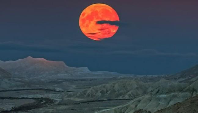 2 gennaio 2018: la Superluna