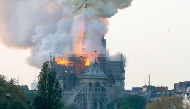 L'incendio di Notre-Dame